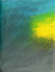 Shiny Blue Skys: Pastel on Paper