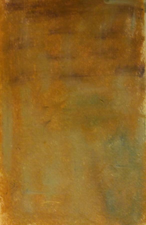 Ancient Walls: pastel on handmade paper