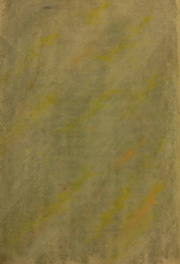 Tempest: pastel on handmade paper