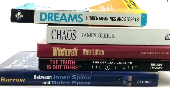 Dawn Whitehand book spine poem