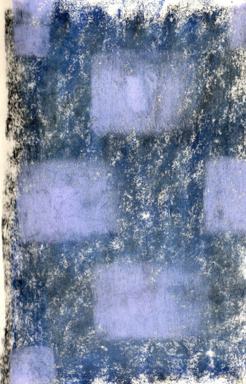 Conte on Handmade Paper